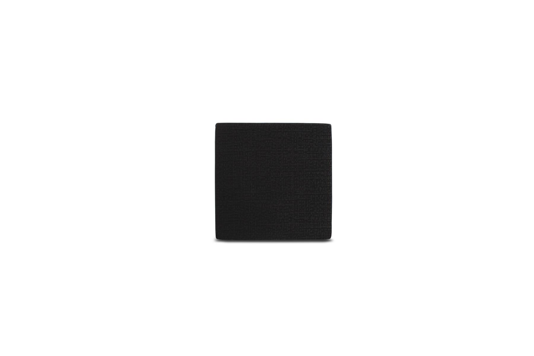 Salt & Pepper – GLASONDERZETTER LEDERLOOK ZWART TABLETOP-SET/4