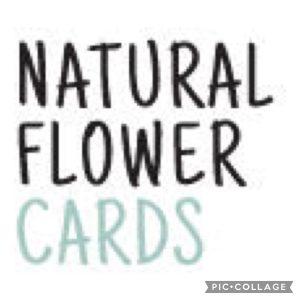 Natural Flower Cards